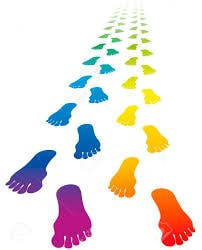 Immagine di impronte dei piedi